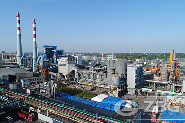 75 Tons Waste Heat Boiler Project in China