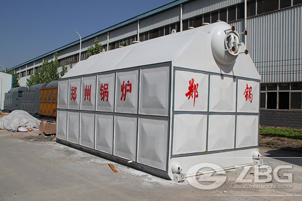 20 Tons biomass boiler exported to Indonesia
