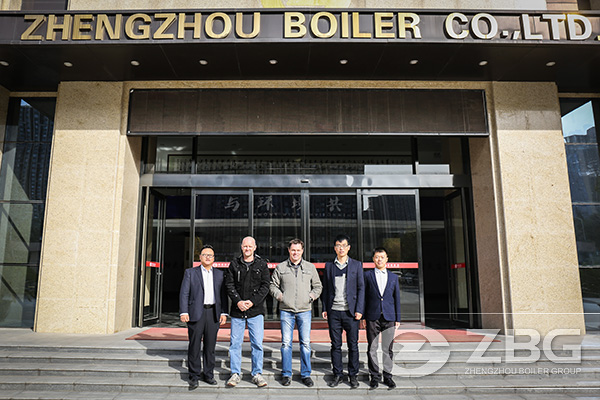 Customers from Australian visit ZBG