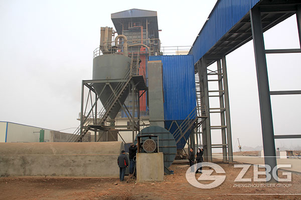 30 Ton Circulating Fluidized Bed Boiler Exported to Vietnam