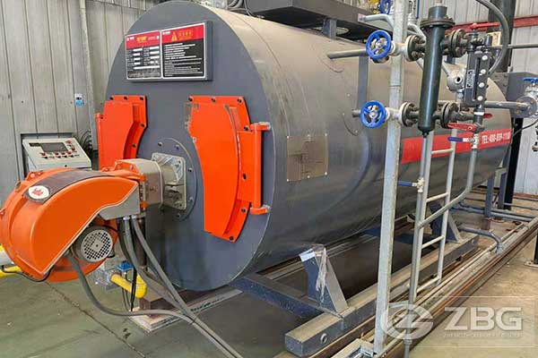 1 Ton Gas Steam Boiler in Chile