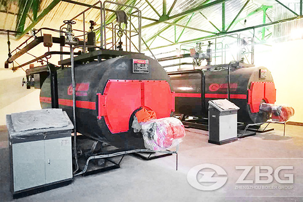 Russia 2.8 MW Gas Fired Hot Water Boiler