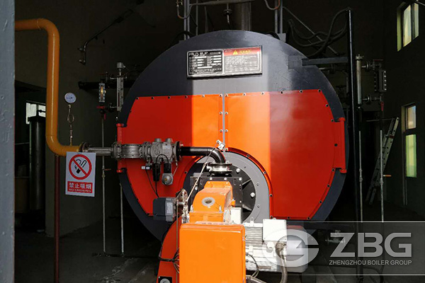 6 Ton Steam Boiler Used in Food Factory