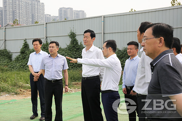 Zhengzhou Leaders Inspect And Guide ZBG Industrial Park Proj