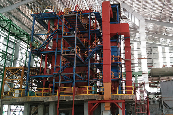 DHL Series Coal Fired Corner Tube Boiler