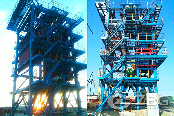 Petroleum Coke Calcining Waste Heat Boiler Project