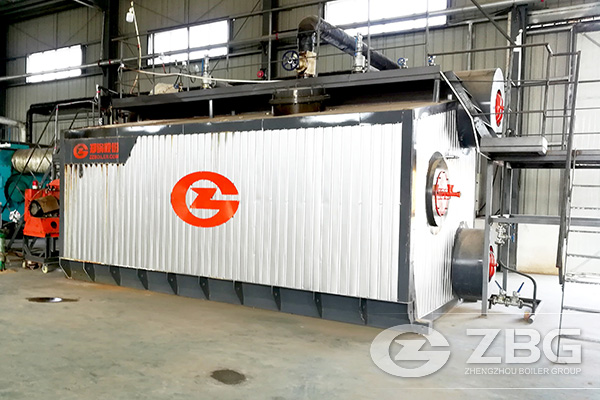10 Ton Low Nitrogen Condensing Gas Boiler Project