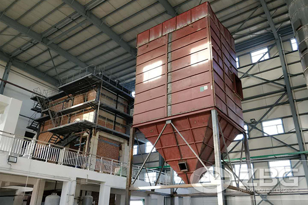 25 Tons CFB Boiler in Pharmaceutical Plant