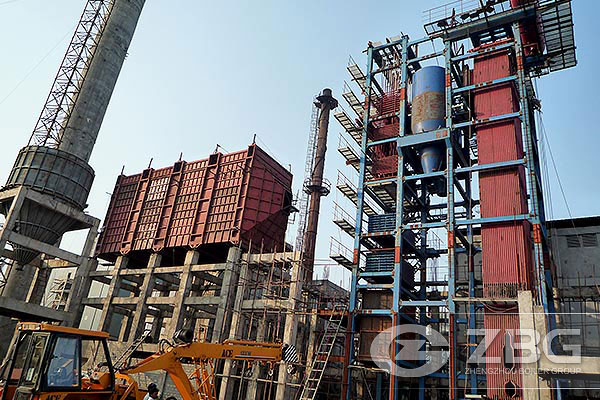 Coal fired boiler for textile factory in India