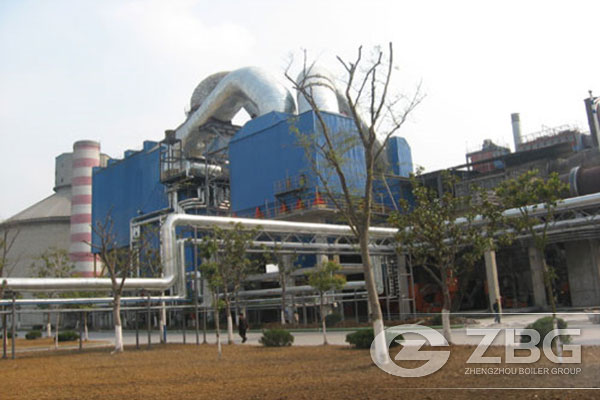 21t Cement Kiln Waste Heat Boiler in Turkey