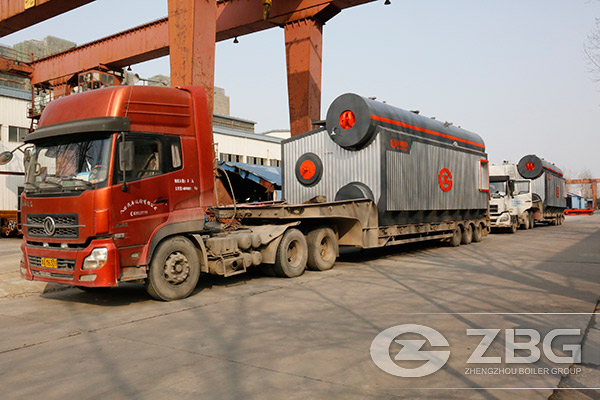 Two Sets of 20 Tons SZS Series Boiler