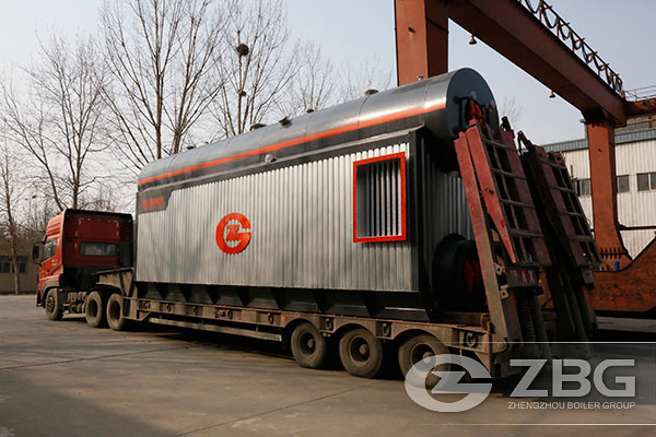 Malaysia 28 Tons Gas Boiler for  Power Generation