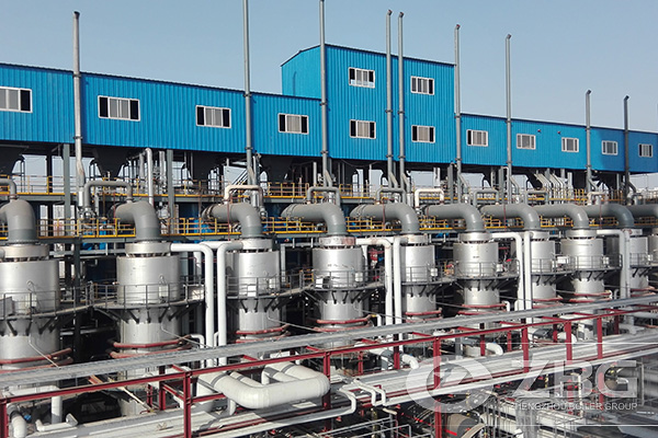 24 Sets of Flue Gas Waste Heat Recovery Boiler Project