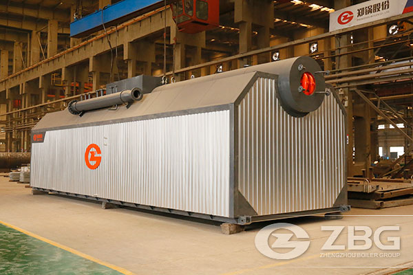 20 Tons Coal Fired Steam Boiler in Paper Factory
