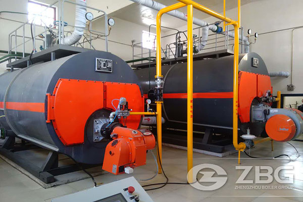 Two Sets of Gas Steam Boiler