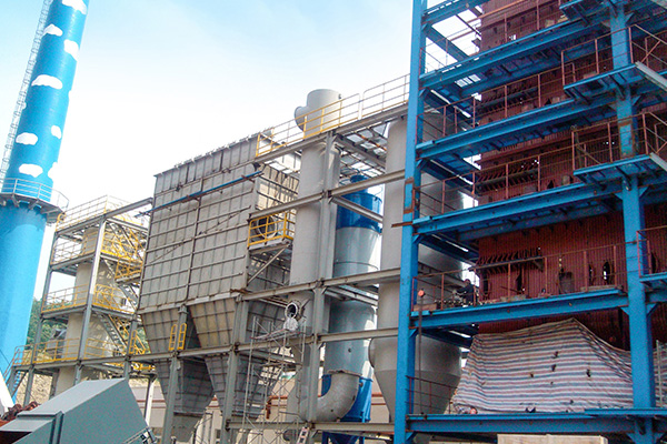 Carbon Rotary Kiln Waste Heat Boiler