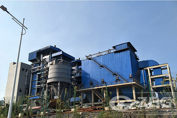 2 sets of 90 ton CFB Boilers in Steel Factory