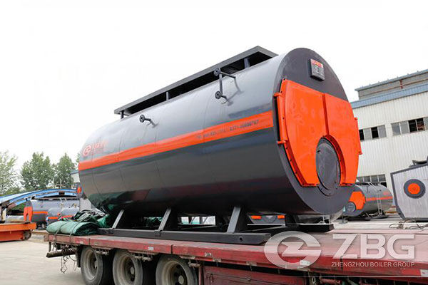 8 Tons Gas & Oil Fired Boiler Exported to Russia