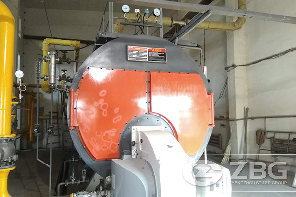 The Installation And Operation of 20 Tons Gas Fired Boiler