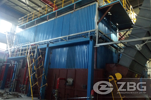 50 Tons Chain Grate Boiler for Steam Supply