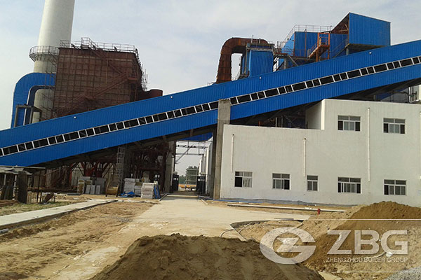 Corner Tube 45 Ton Biomass Boiler For Power Plant