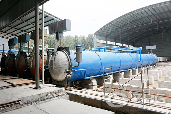 5 Sets of Autoclaves for 150,000m³AAC Plant