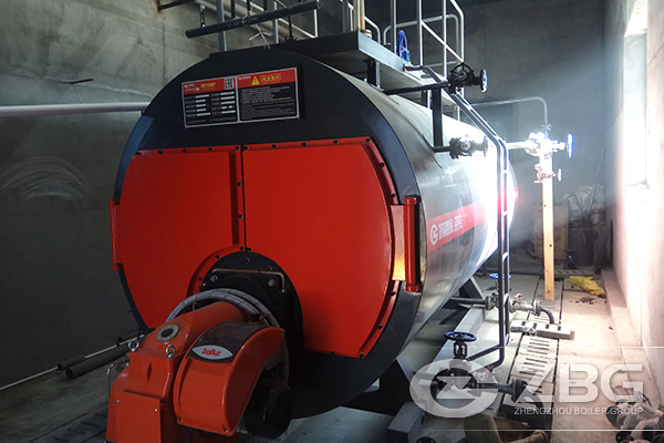 3 Tons Steam Boiler Exported to Russia