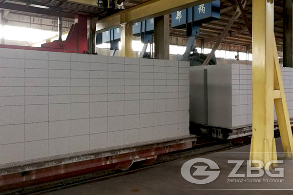 Autoclave FGZSS1.3-2.5Ⅹ32 used for AAC plant