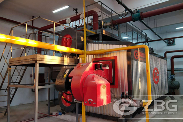 10 Tons Hot Water Boiler for School