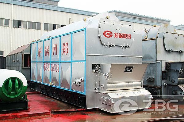 Chain grate boiler exported to Kazakhstan