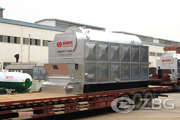 Chain grate boiler exported to Vietnam