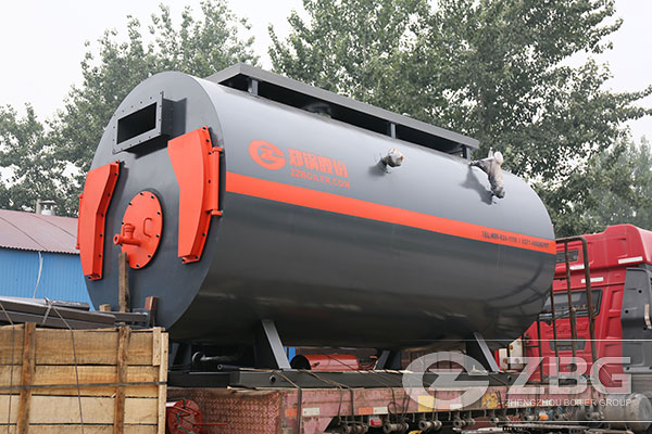3 ton gas fired boiler exported to Indonesia