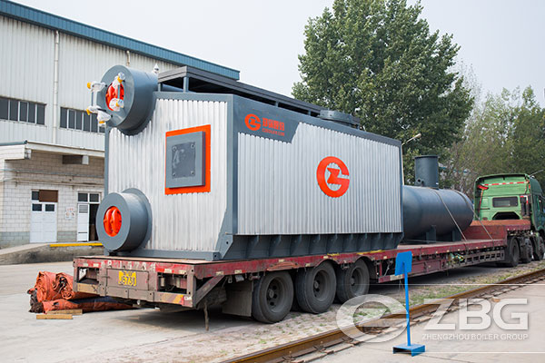 10 Tons Natural Gas Boiler for Rubber Tire Processing in Thailand