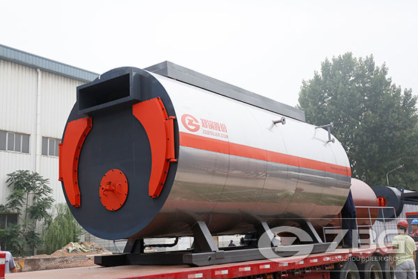 2 ton Gas Fired Boiler in Photographic Film Production