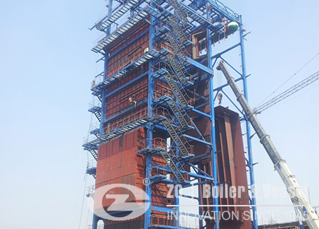 CFB Boiler Drum and Water Cooling System-ZBG Boiler