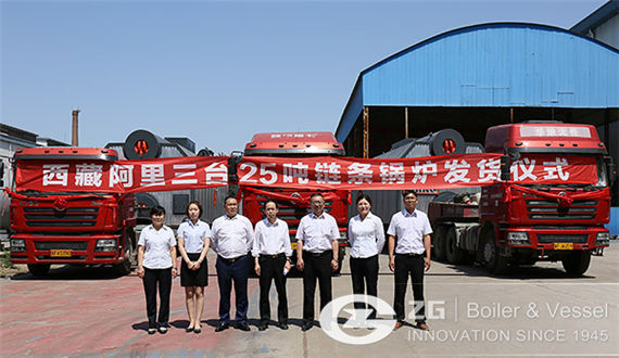 ZG Held A Grand Shipping Ceremony For Ali $3 million Boilers Project