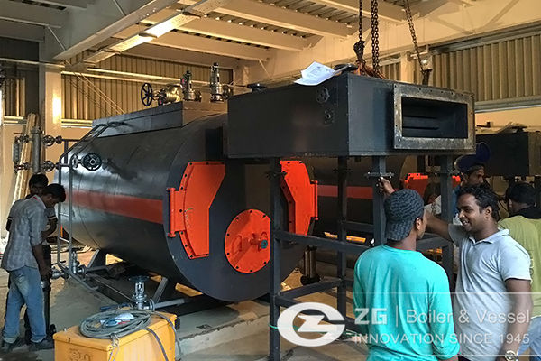 Bangladesh 1t/h and 2t/h WNS type boiler