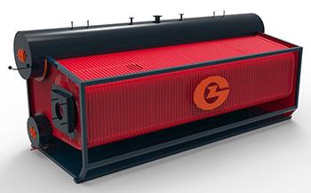 SZS series gas-fired(oil-fired) steam boiler