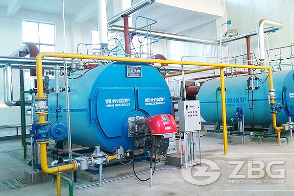 1.5MW Natural Circulation Type Chinese Oil Fired Boilers, Packaged ...