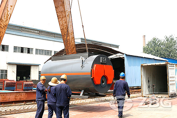 1 Ton Oil Boiler For Madagascar Textile Mill