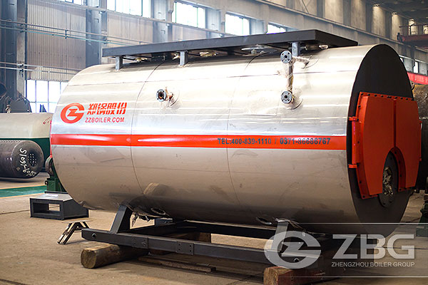 wns2ton oil fired boiler