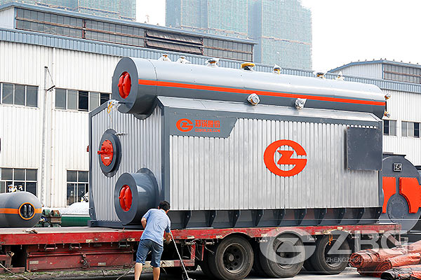 2 sets of gas fired boiler to Iran