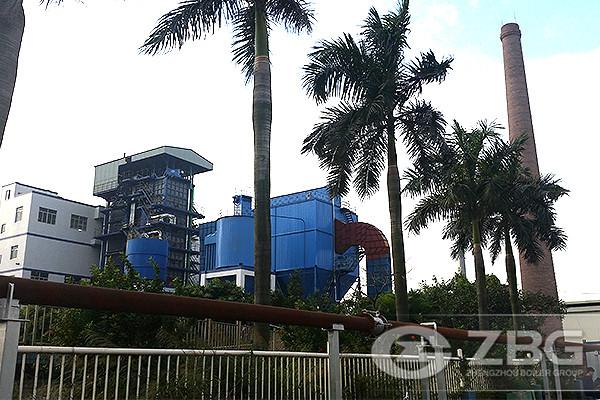 ZG30-5.29T CFB Boiler in Garment Factory