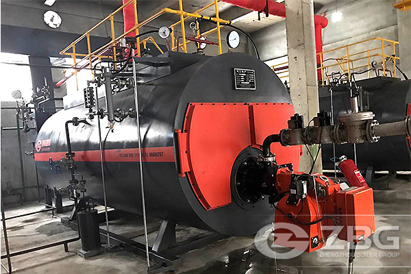 5-Star Hotel Ordered 3 sets of Gas Steam Boilers