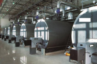 The budget of investing a natural gas fired boiler