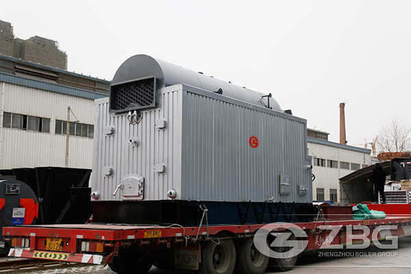 4 Ton Biomass Chain Grate Package Boiler Shipping to Bali Indonesia