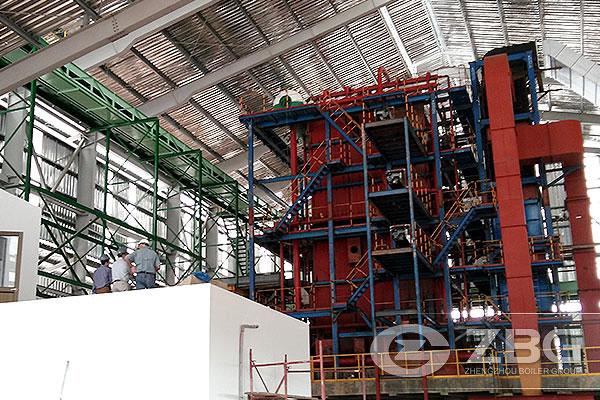 30 T/H Biomass Corner Tube Boiler Columbia