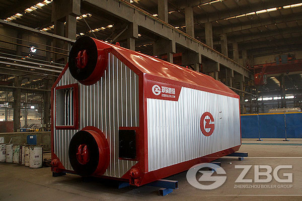 7MW Biomass Pellet Hot Water Boiler