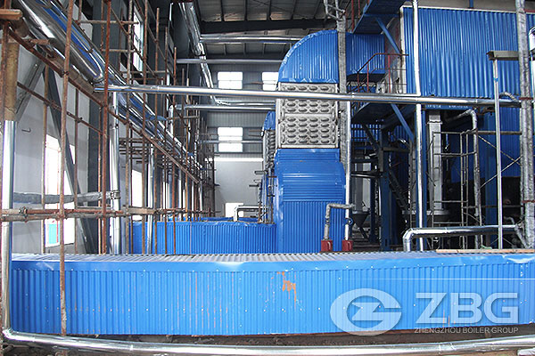 Philippines 20 Ton Biomass Power Plant Boiler