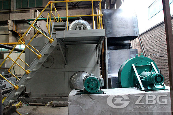 10 Ton Gas Fired Steam Boiler China